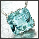 Aquamarine Pendant